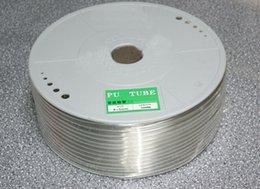 Wholesale Tubo de poliuretano de mm mm de tubo de poliuretano PU Tubo de plástico neumático de manguera de compresor de m