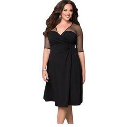 Discount Plus Size Dress Clothes For Work | 2017 Plus Size Dress ...