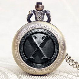 discount x men watch 2017 x men watch on at dhgate com whole new design x men theme glass dome bronze quartz pendant pocket watch necklace chain shipping x men watch promotion