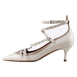 Discount Low Heel Ankle Strap Dress Shoes | 2017 Low Heel Ankle ...