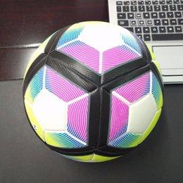 2016 Nueva Inglaterra League soccers anti-deslizamiento de fútbol granalla A ++ balón de fútbol rojo estrellas tamaño 5 envío libre