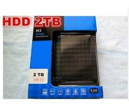 M3 2TB внешний жесткий диск 2000GB портативный жесткий диск USB 3.0 Бесплатная доставка