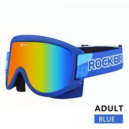snowboard goggles sale 8l3j  Wholesale- ROCKBROS Skiling Glasses Double-Layer Anti-Fog MTB Cycling Snow  Snowboard Goggles Ski Mask Eyewear For Adults And Children ski goggles anti  fog