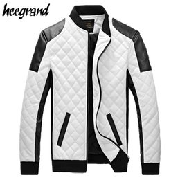Discount White Leather Jackets For Men | 2017 White Leather