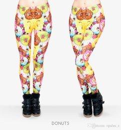 Wholesale 2017 Leggings nueva impresión de la aptitud para las mujeres Poliéster libre Leggins suaves pantalones leggings de yoga floral para las mujeres gimnasio