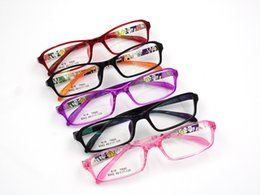 super light tr90 children eyeglass frame myopia glasses transparent multi color student spectacle frame inexpensive transparent eyeglass frames