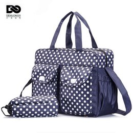 best baby bags designer mwc5  Wholesale- 40*29*9cm 3pcs Designer Baby Stroller Diaper Bags For Mom  Storage Organizer Mother Maternity Bag Women Changing Mat Nappy Bags