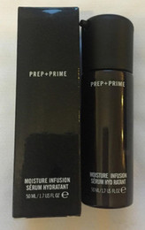 Maquillaje facial Prep + Primer hidratante de la infusión de la humedad Primer 50ml Fundación DHL Envío gratis