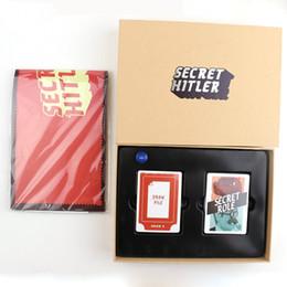 2016 SECRET HITLER Игры ранее был избран новый президент Канцлер карты подарок совета Kickstarter издание игры Рождество Хэллоуин для взрослых
