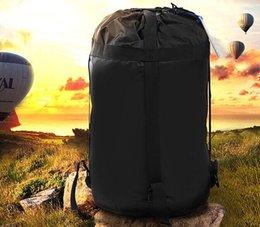 BlueField Открытый кемпинг Спальный мешок Нейлон Облегченный компрессионный материал Мешок для багажа Открытый кемпинг Пеший туризм Спящий LLFA