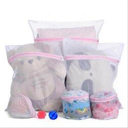 30 * 40cm máquina de lavar roupa especializado roupa interior lavagem saco de lingerie malha saco de sutiã lavar saco de lavanderia de cuidados no melhor preço e qualidade W1129