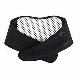 100шт Самостоятельное нагревание турмалин магнитной шеи тепловой терапии поддержки пояса Wrap Brace Massager Slim оборудование