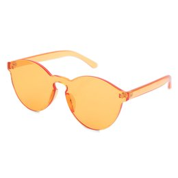 discount designer frames wholesale high quality transparent frame brand designer round colorful coating sunglasses fashion