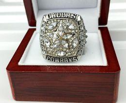 Новое приезжанное кольцо золота чемпионства кольца первенства 1995 Dallas свободная с розничной коробкой