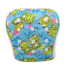 Wholesale Couches de natation Couche culotte respirante de haute qualité de tissu Couche culotte imperméable pour la natation de bébé Taille unique