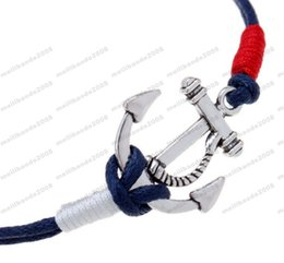 2017 Os braceletes quentes da infinidade da forma da venda pirateam o bracelete náutico tecido dos anéis do bracelete náutico do bracelete O envio gratuito MYY