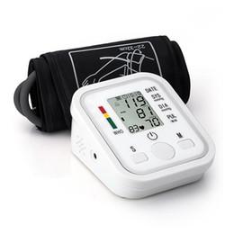 Рычаг Импульсный Монитор артериального давления здравоохранения Мониторы Цифровые Верхние портативный монитор артериального давления Счетчики Сфигмоманометр LLFA
