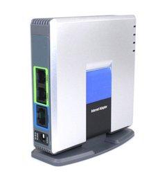 UNLOCKED LINKSYS PAP2T-NA SIP VOIP Adaptador de teléfono 2 puertos D0252D