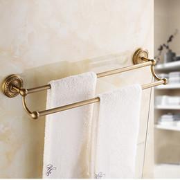 Luxury Antique Brass Bath Hardware Towel Hanger Set Rack Bar Paper Holder Shelf Hook Bathroom Accessories