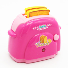 online shopping MICHLEY Kitchen Cooking Playset Bread Machine for Kids Pretend Play Beautiful Toys Gifts ABS Material ZJ pretend