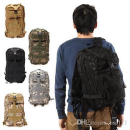 ¡Envíe de los EEUU! 25L Tactical Mochila Mochilas Deporte Camping Molle Trekking Bolso 600D Bolsa De Hombro Bolsos Al Aire Libre