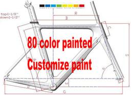 OEM пользовательские краски 80 цветов углерода Дорога MTB рама велосипеда Frameset углерода велосипеда фреймами высокого качества
