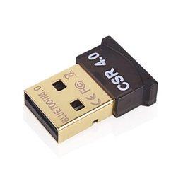 Высокое качество Bluetooth 4.0 USB 2.0 CSR4.0 Dongle адаптер для портативных ПК WIN XP VISTA7 / 8 Ну с розничным пакетом