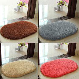 Wholesale-Anti-Skid Soft Fluffy Absorbent Area Rug Home Bathroom Floor  Shower Door Mat supplier cotton area rug