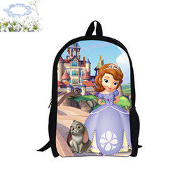 Discount Sofia First Kids Backpacks | 2017 Sofia First Kids ...