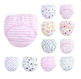 Wholesale Cartoon Animal Couches de coton florales Nappies lavables Parure en tissu Reusable Infants Toddler Baby Top Quality couches couches de coton Nappy
