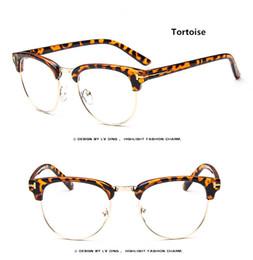 hot sale retro brand optical glasses vintage eyeglasses frame custom optical myopia lens designer women men eyewear lt8015
