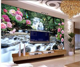 Fashion Decor Home Decoration For Bedroom Living Room Flowers Blooming Flowers And Birds Landscape Painting Wall Decoration Painting