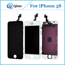 Promotion-Wholesale Pour iPhone 5G 5S 5C Lcd Display Touch Screen Digitizer Ensemble complet avec pièces de rechange de cadre