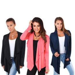 Femmes et Lady Long Sleeved Cardigan Jacket Small Irregular Cut Livraison gratuite Small Thin Outwear Show Slim Livraison gratuite