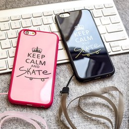 online shopping TPU Case For iphone plus s plus s SE Slim Luxury Crown Couple Pattern Silicone Phone Case Phone Straps