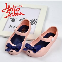 online shopping Children Butterfly knot Sandals Rain Boots Kids Girls Babies Toddle Jelly Cartoon Slip On Shoes New kinderen regenlaarzen Candy Color