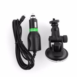 online shopping Car Power Charger USB Cable Mount Suction Cup Bracket Holder for Action Sport Camera Cam SJ1000 SJ3000 SJ4000