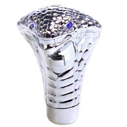Универсальная автомобильная Прохладный Сдвиг Knobs Cobra Head Ручка переключения передач LED Глаза автомобиля Гонки Shifter Ручка автомобиля передач Eye Стик Shifter Стиль