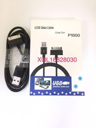 Discount good tablets For Samsung P1000 Cable Copy Original Good Quality Transfer Data charge for Samsung Tablet