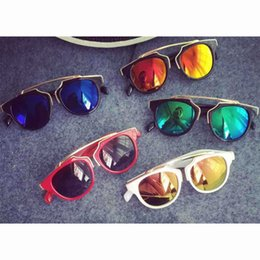 online shopping Spring Autumn Children Sunglasses Round Fashion New Baby girls boys travel glasses Colorful ultraviolet proof kids accessory Lovekiss A49