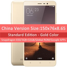 "2017 chinese metal body phone Original Xiaomi Redmi Note 3 Snapdragon 650 32GB ROM Mobile Phone 5.5"" 1920x1080 3GB RAM 16MP Metal Body Fingerprint discount chinese metal body phone"
