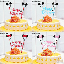 discount minnie mouse cake decorations supplies wholesale mickey minnie mouse cake topper for kids happy - Wholesale Cake Decorating Supplies