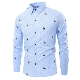 Discount Christmas Men Dress Shirts | 2017 Christmas Men Dress ...