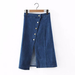Discount Jeans Skirt Woman S | 2017 Jeans Skirt Woman S on Sale at ...