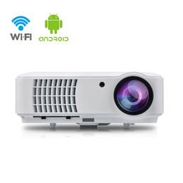 IRULU projecteur vidéo Wi-Fi Smart Android 4.4 8 Go sans fil 1080p Max 200