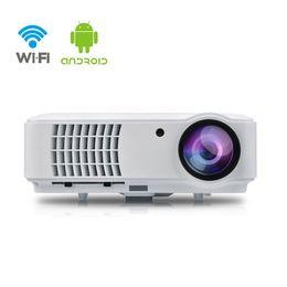 Видеопроектор iRULU Wi-Fi Smart Android 4.4 8GB Беспроводной 1080p Max 200