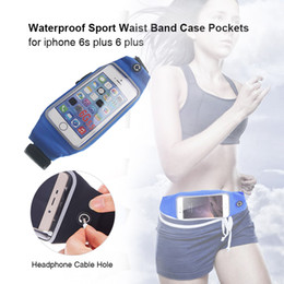 online shopping 2017 Multifunction Waterproof Waist Bag Outdoor Sport Runner Jogger Money Key Phone Pack Case for iPhone s Plus Anti theft Pouch