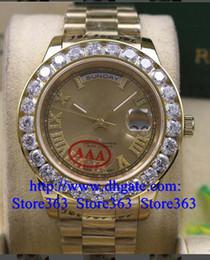 luminous dial mens watches online luminous dial mens watches for new style gold dial mens day date 2 ii 18k 41mm president yellow gold bigger diamond watch