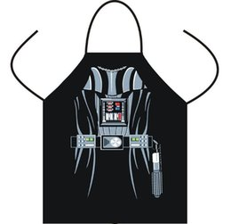 Delantales Delantal de la cocina de la serie del personaje de delantales Delantal de la cocina de la personalidad divertida