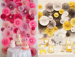 Fan paper flowers wholesale nz buy new fan paper flowers wholesale 6 piece set 3 different size tissue paper fans flower party wedding birthday hanging decoration shower crafts party wedding supplies mightylinksfo